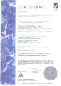 thumbnail of EN ISO 3834 – 2 – 2005